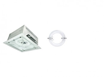 induction-gas station-recessed-fixtures